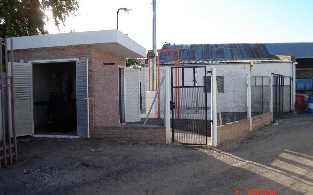 Construcción de Estación Elevadora 1