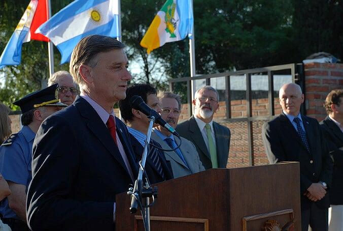 Inauguración Obra de Cloacas año 2009