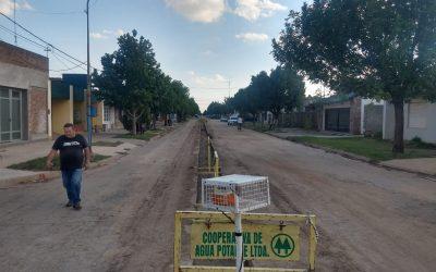 Ejecución de cloacas calle Estanislao López entre Alberdi y J. S. Sacarafía. Casi terminada!
